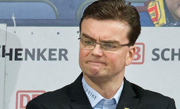 Pekka Tirkkonen ei ollut tyytyväinen tuomaritoimintaan.