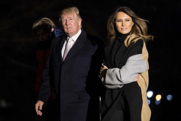 Melanian ja Donald Trumpin suhteen laatu on puhuttanut jo ennen presidenttiyttä.