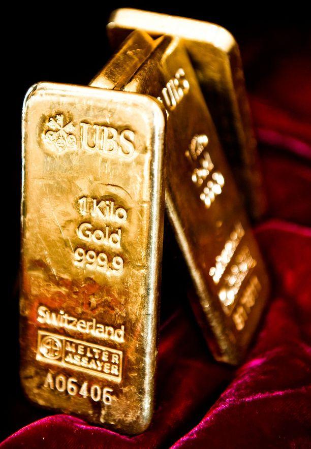 Kultaharkon arvo oli liki 19 000 euroa.