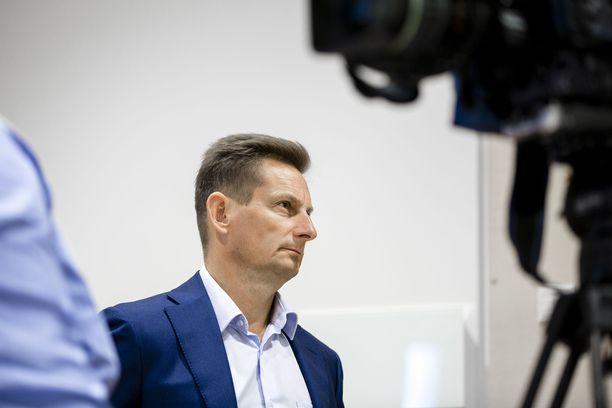 Alma Median toimitusjohtaja Kai Telanne kiistää syytteen työsyrjinnästä. Arkistokuva.