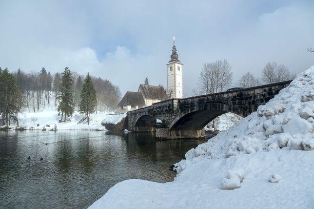 Paikka on kaunis myös talvella.