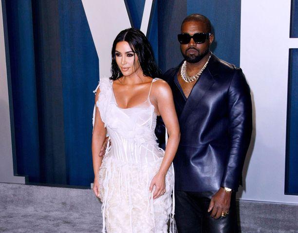 Kim Kardashian ja Kanye West menivät naimisiin vuonna 2014.