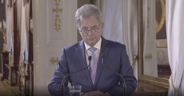 Huolestunut tasavallan presidentti Sauli Niinistö on ottanut kantaa Suomeen keskustelukulttuurin suuntaa koskien.