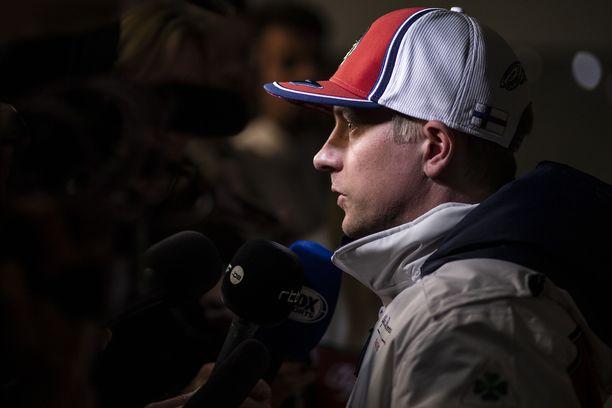 Kimi Räikköselle motocross jäi pelkäksi harrastukseksi.