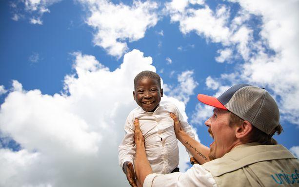 Jasper Pääkkönen Malawissa.
