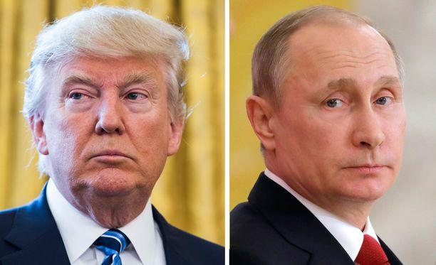 Donald Trump ja Vladimir Putin tapaavat heinäkuussa.