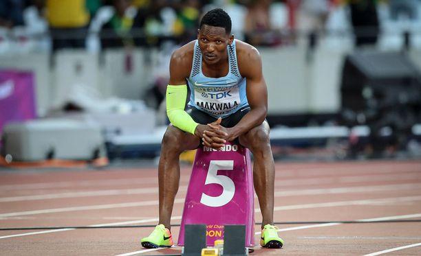 Isaac Makwala kertoi murtuneena saamastaan kohtelusta.