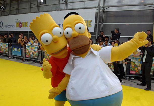 Simpsons-elokuva sai myös viikonloppuna Suomessa ennätysyleisön.