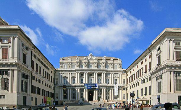 Näyttely pidettiin Palazzo Ducalessa, joka nyt hakee korvauksia menetetystä maineestaan.