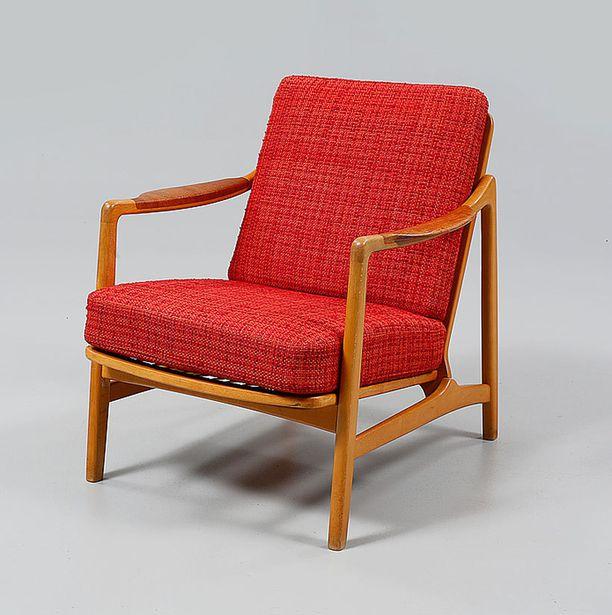 Retro-tuolin lähtöhinta oli noin 200 euroa.