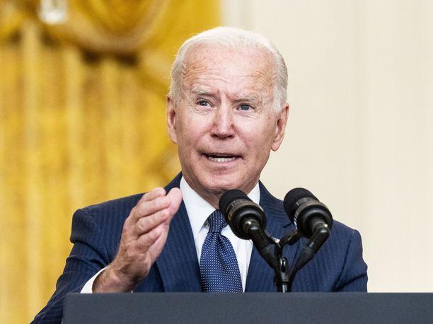 Presidentti Joe Biden ilmoittaa, että Yhdysvaltain varhain lauantaina ISIS-K:ta vastaan tekemä drone-isku ei jää viimeiseksi.