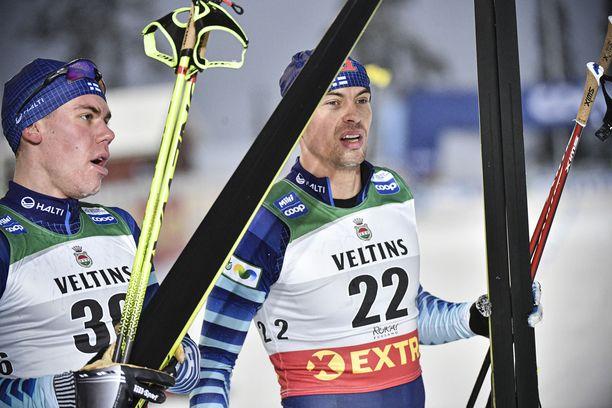 Suomen maajoukkue ei kisaa Dresdenissä ja Davosissa.