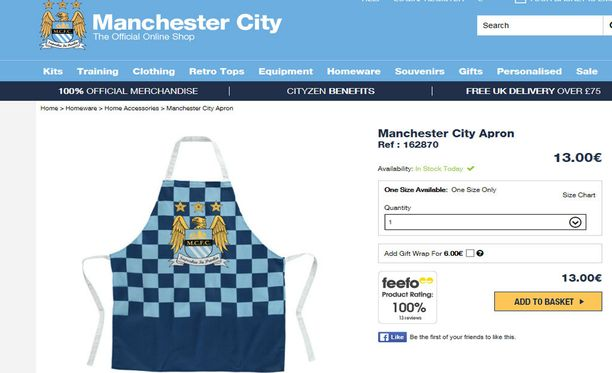 Saisiko olla Manchester City -essu?