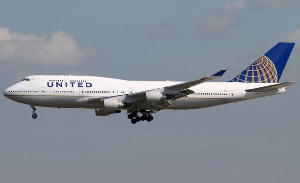 Koira kuoli United Airlinesin lennolla Yhdysvalloissa.