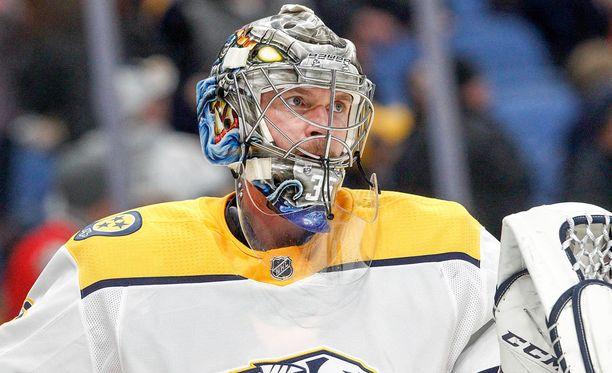 Pekka Rinteen edustama Nashville Predators oli runkosarjassa koko NHL:n ykkönen.