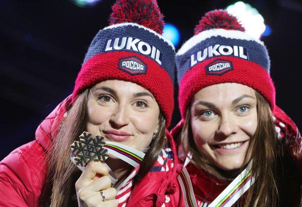 Julia Belorukova ja Anastasia Sedova ovat sivussa tämän kauden.