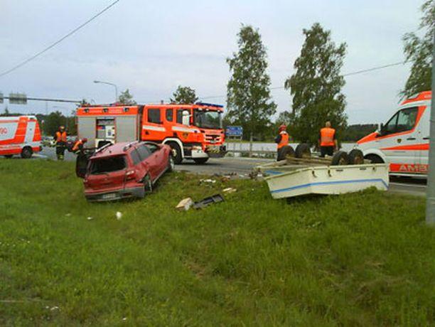 Kolari Hämeenlinnan Idänpäässä.