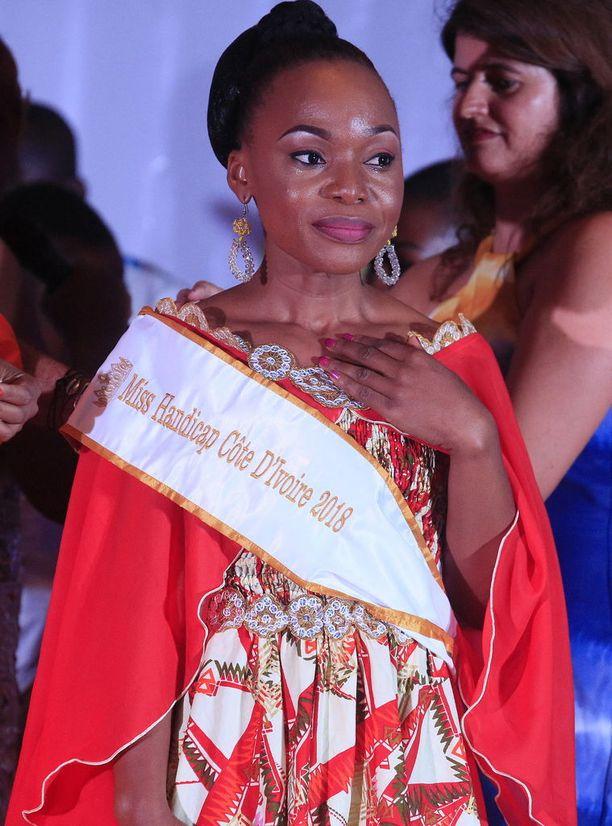 Kauneuskilpailun voitti 25-vuotias Lokou Getheme.