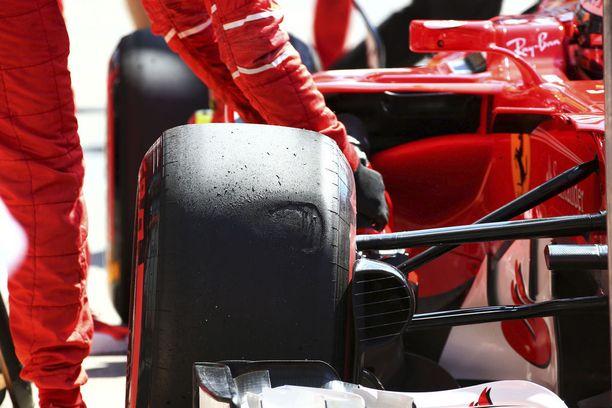 Ferrari haluaa pitää kiinni pienestä rengasedustaan, joka sillä on ollut kilpailijoihinsa nähden.