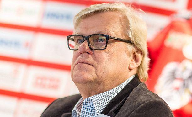 Alpo Suhonen on toiminut Itävallan jääkiekkoliiton urheilujohtajana vuodesta 2012 lähtien.