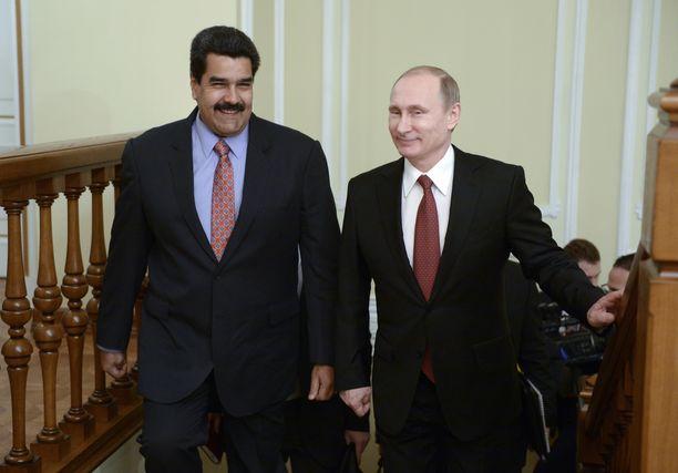 Venäjällä ja Venezuelalla on tiivis kauppasuhde keskenään.