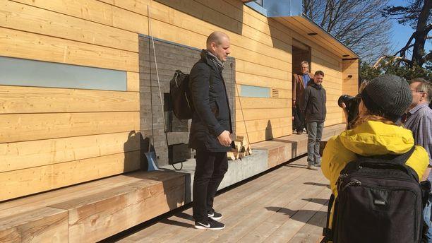 Uuden saunan on suunnitellut arkkitehti Anssi Lassila.