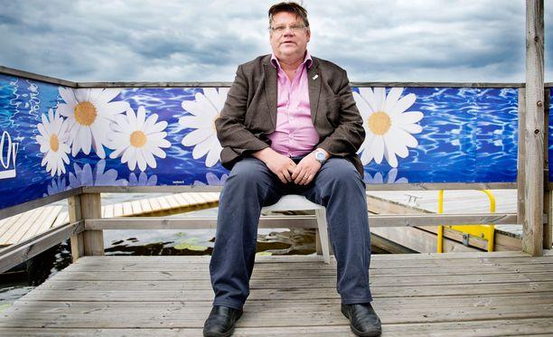 Puoluejohtaja Timo Soini avautui Peruspomo-kirjassa perussuomalaisten johtamisesta.