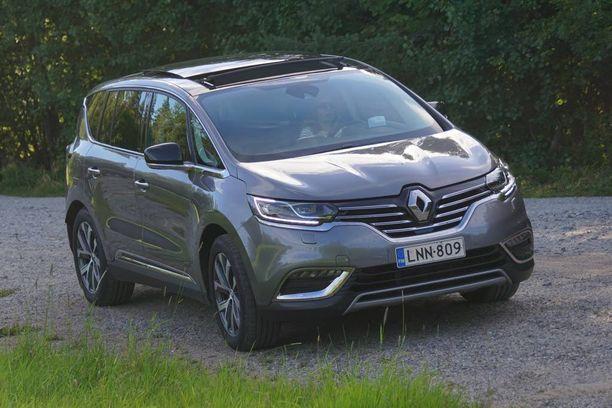 Espace on Renaultin isokokoinen crossover-tyylitelty risteilijä, ranskalaisvalmistajan tämänhetkinen lippulaiva.