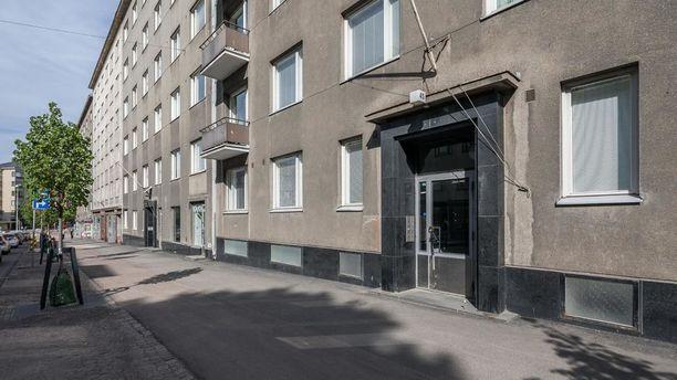 Helsingin Töölössä sijaitsevassa yksiössä on 18 neliötä.