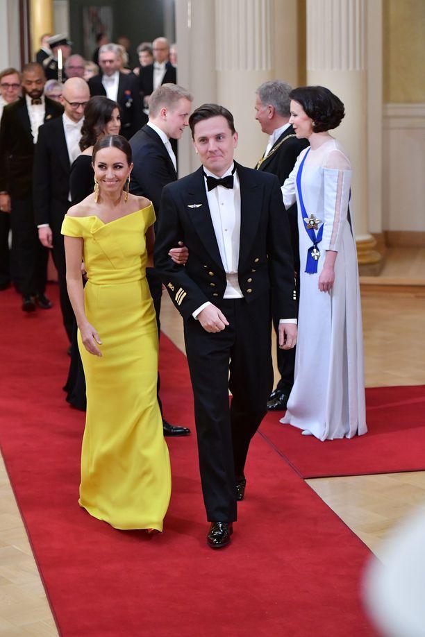 Jaana Pelkonen äänestettiin toiseksi Linnan kuningatar -äänestyksessä.
