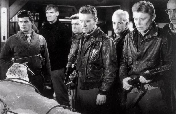 """The Thing - """"se"""" toisesta maailmasta on tieteiselokuvien klassikko vuodelta 1951."""