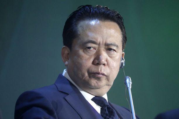 Meng Hongwei on ollut Interpolin johtaja vuodesta 2016 lähtien, ja hänen virkakautensa oli määrä jatkua vuoteen 2020.