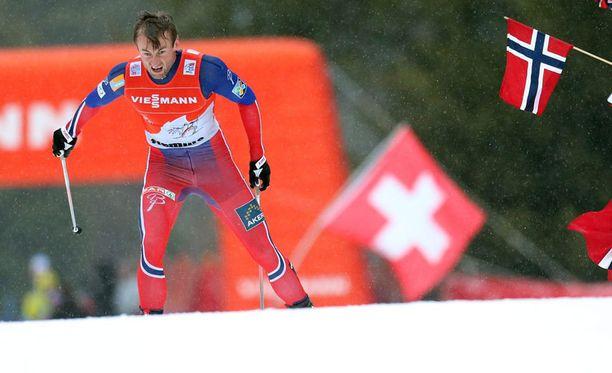 Petter Northug joutuu vastoin suunnitelmiaan osallistumaan Norjan mestaruuskisoissa myös sprinttiin.