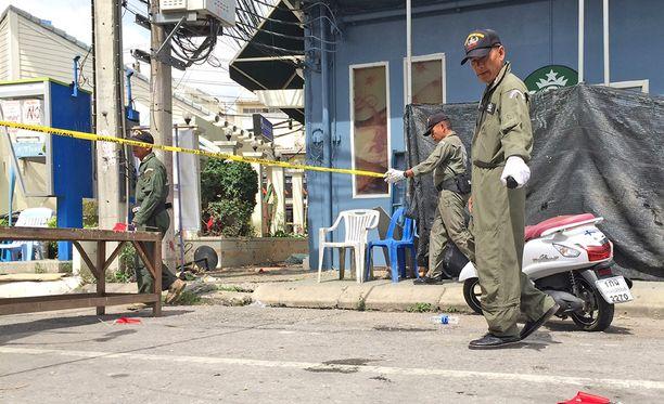 Poliisin mukaan iskut teki thaimaalainen ryhmittymä, jolla ei ole kytköksiä kansainväliseen terrorismiin.