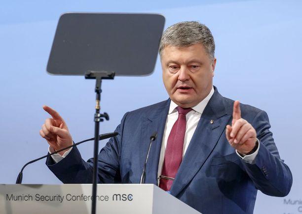 Poroshenki uskoo, että Ukraina on avain taistelussa Euroopan tasapainosta.