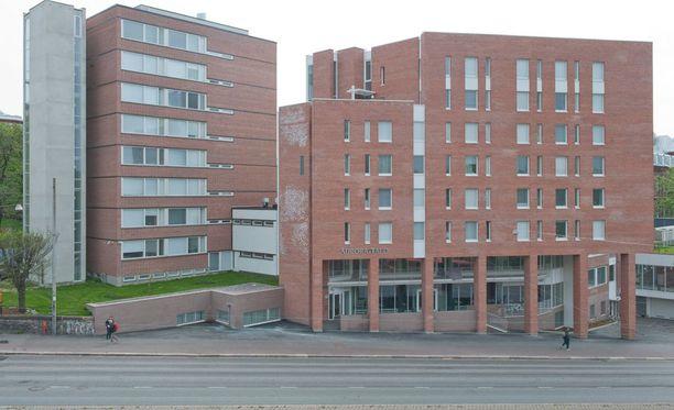Diakonissalaitoksen Auroratalossa Helsingissä tapahtui suuri vesivahinko torstaina.