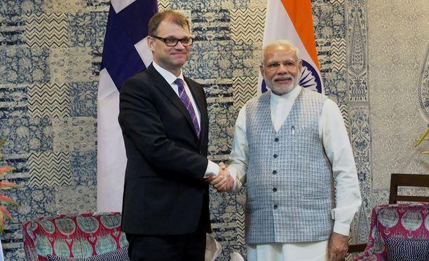 Salattujen asiakirjojen joukossa on myös Sipilän ja Intian pääministerin Narendra Modin tapaamisesta 13. helmikuuta 2016 laadittu keskustelumuistio.