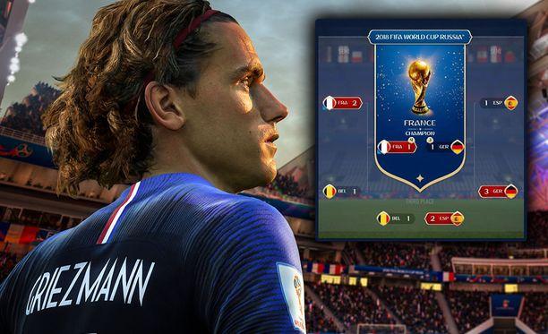 EA ennusti MM-kisojen voittajaksi Ranskan.