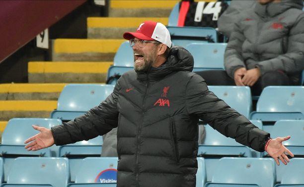 Jürgen Kloppin Liverpool ei ole voittanut lokakuussa yhtään ottelua.