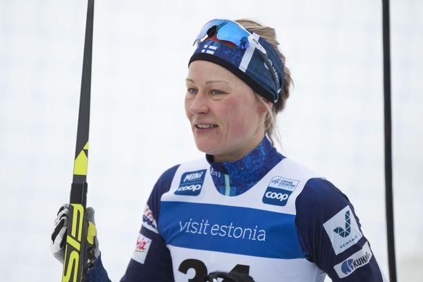 Anne Kyllösellä oli raaka kisa Virossa.