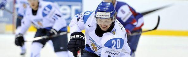 NHL:n ovet eivät auenneet Janne Pesoselle.