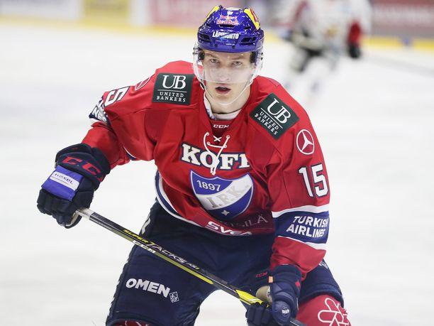 Anton Lundell on Suomen ykkösnimi ensi kesän varaustilaisuudessa.