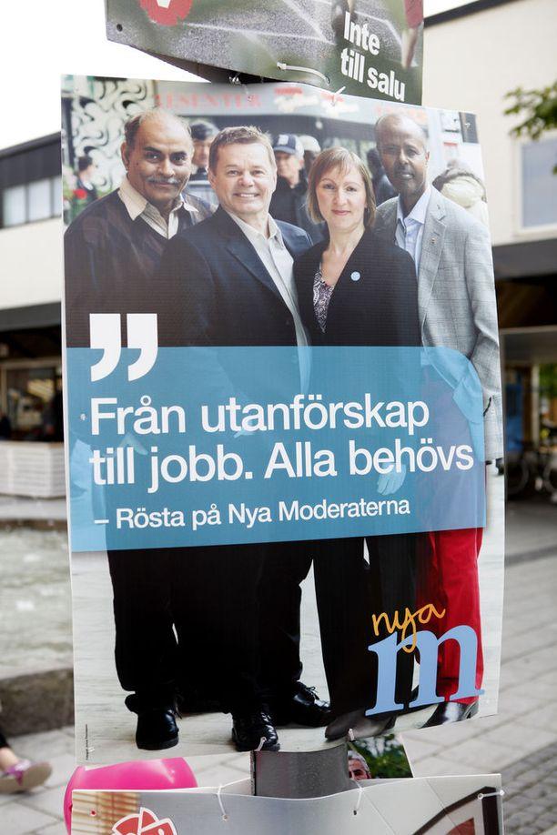 Ruotsidemokraateista tuli vuoden 2014 valtiopäivävaalien ilmiö.