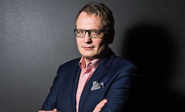 Iltalehden päätoimittaja Perttu Kauppinen.