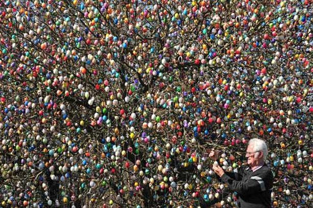Volker Fraft aloitti pääsiäismunien koristelun yli 40 vuotta sitten.