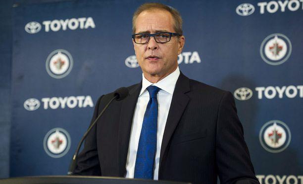 Jetsin päävalmentaja Paul Maurice heitti vitsin Patrik Laineesta.