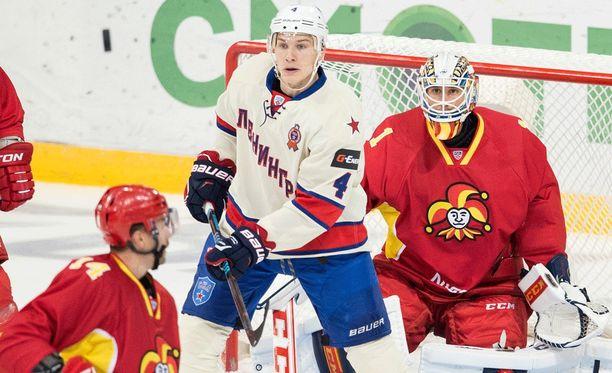 Jarno Koskiranta on saanut positiivisen vaikutelman Andrei Nazarovista.