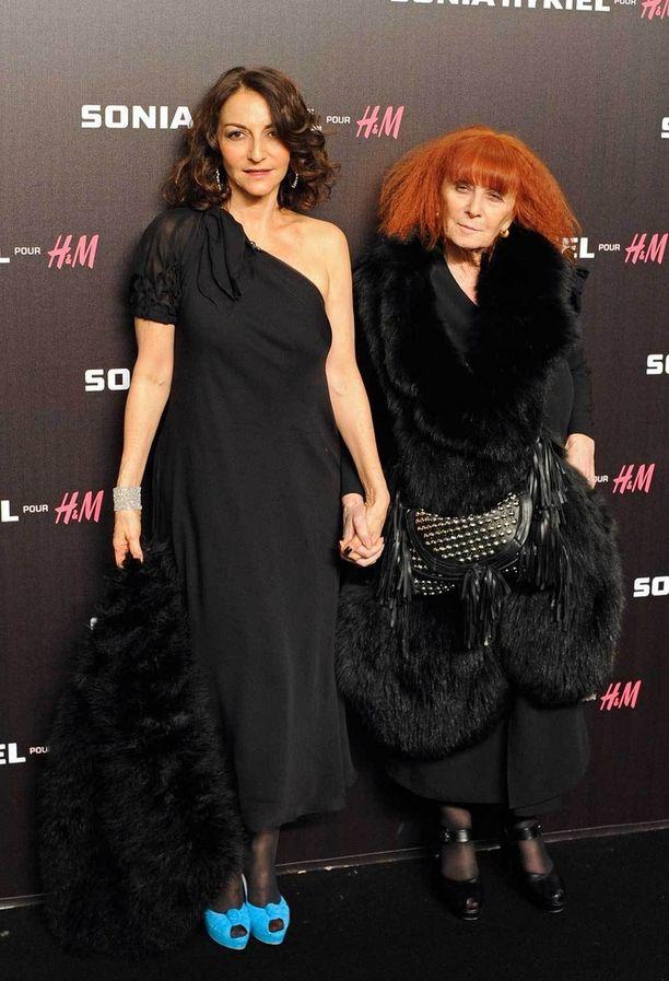 Nathalie ja Sonia Rykiel vuonna 2010.