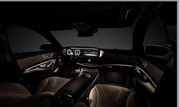 Mercedes raottaa ikkunaa kaikkien aikojen ylellisimmän S-sarjalaisen ytimeen.