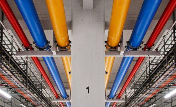 Googlen palvelinkeskus Haminassa työllistää 300 ihmistä.